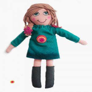 muñeca de tela mmonicdolls.es